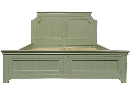 Кровать olivia (etg-home) зеленый 190.0x140.0x206.0 см.