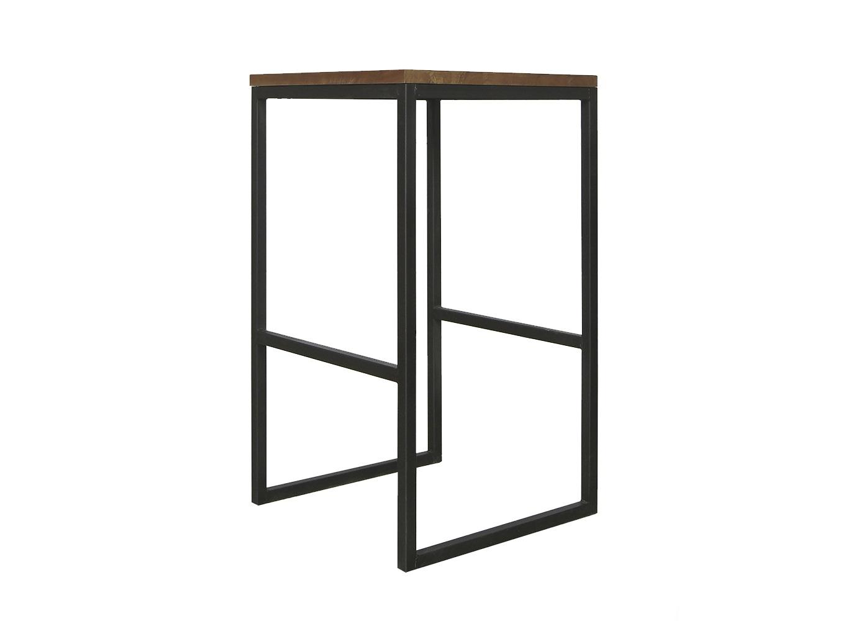 Барный стул IndustrialБарные стулья<br>Материал: береза<br><br>Material: Металл<br>Ширина см: 40<br>Высота см: 70<br>Глубина см: 40