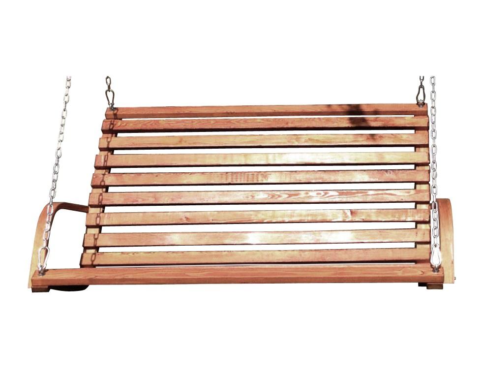 Деревянные качели VillaКачели<br>Качели родом из детства. Реечные сиденье и спинка подвешены на цепях к устойчивому каркасу. Выполнены из дерева теплого желтоватого цвета.Каркас размер 193х34х17см Вес 39кг<br>Качели Размер 140х60х13 Вес 20 кг<br><br>Material: Дерево<br>Length см: 193.0<br>Width см: 34.0<br>Depth см: None<br>Height см: 17.0<br>Diameter см: None