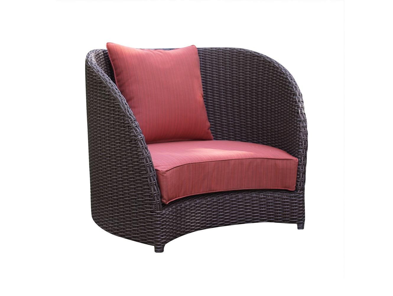 Кресло ТюльпанКресла для сада<br>Кресло из коллекции «Тюльпан» – это яркое исполнение в оригинальной форме. Высокая спинка кресла создает атмосферу защищенности и внутренней гармонии. Вы отлично проведете время, удобно устроившись на любимом кресле, так как в его объятиях время словно замедляет свой бег.<br>Кресло из коллекции «Тюльпан» может стоять на улице круглый год. Не боится влаги и мороза.&amp;amp;nbsp;&amp;lt;div&amp;gt;&amp;amp;nbsp;<br>&amp;lt;div&amp;gt;Каркас не разборный, не раскладывается, матрас и подушки входят в стоимость.&amp;amp;nbsp;&amp;lt;/div&amp;gt;&amp;lt;div&amp;gt;Цвет плетения: коричневый. Цвет подушек: красный.&amp;amp;nbsp;&amp;lt;/div&amp;gt;&amp;lt;/div&amp;gt;<br><br>Material: Искусственный ротанг<br>Width см: 91,5<br>Depth см: 85,5<br>Height см: 80