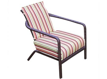 Кресло жасмин (green garden) красный 64x79x77 см.
