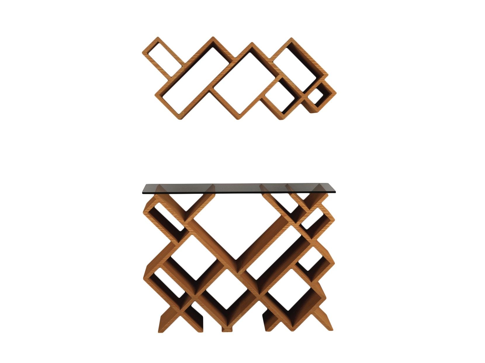 Комплект ГеометрияНеглубокие консоли<br>Необычные, современные полка и столик преобразят ваш интерьер!&amp;amp;nbsp;&amp;lt;div&amp;gt;&amp;lt;br&amp;gt;&amp;lt;/div&amp;gt;&amp;lt;div&amp;gt;Материал: МДФ, шпон&amp;lt;/div&amp;gt;&amp;lt;div&amp;gt;Установка требуется&amp;amp;nbsp;&amp;lt;/div&amp;gt;&amp;lt;div&amp;gt;Размеры: верхняя часть - 85x 37x 24см;&amp;lt;/div&amp;gt;&amp;lt;div&amp;gt;Нижняя часть - 85x67x24см&amp;lt;/div&amp;gt;<br><br>Material: МДФ<br>Ширина см: 67<br>Высота см: 85<br>Глубина см: 24