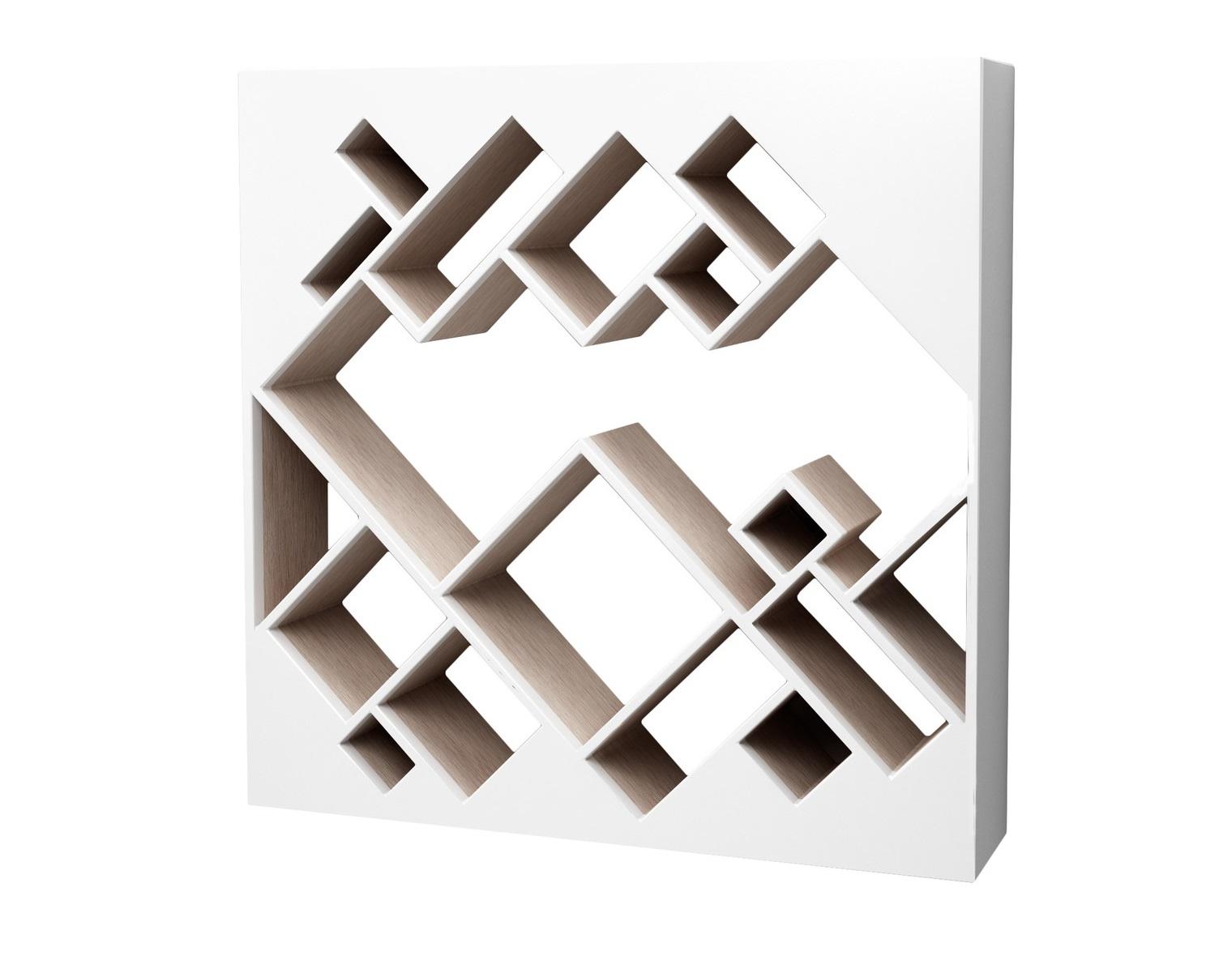 Полка ГеометрияПолки<br>Яркая дизайнерская полка поднимет Вам настроение, а удобный функционал даст возможность расставить книги и предметы по Вашему вкусу!&amp;amp;nbsp;&amp;lt;div&amp;gt;Материал: МДФ, шпон, эмаль&amp;amp;nbsp;&amp;lt;/div&amp;gt;<br><br>Material: МДФ<br>Ширина см: 115.0<br>Высота см: 115.0<br>Глубина см: 25.0