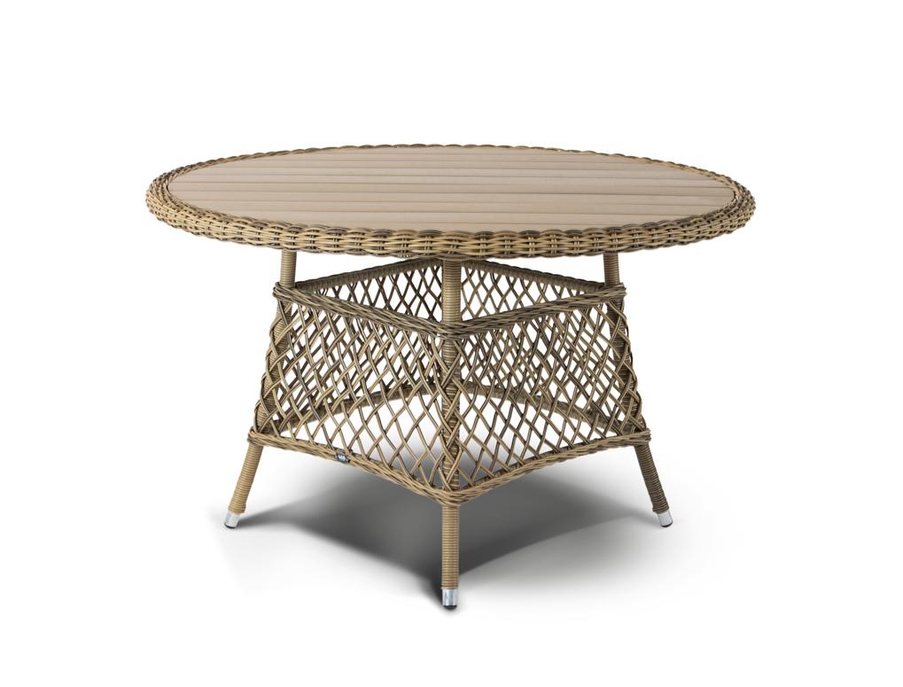 Стол РавеннаСтолы и столики для сада<br><br><br>Material: Ротанг<br>Length см: None<br>Width см: 120<br>Depth см: 120<br>Height см: 75