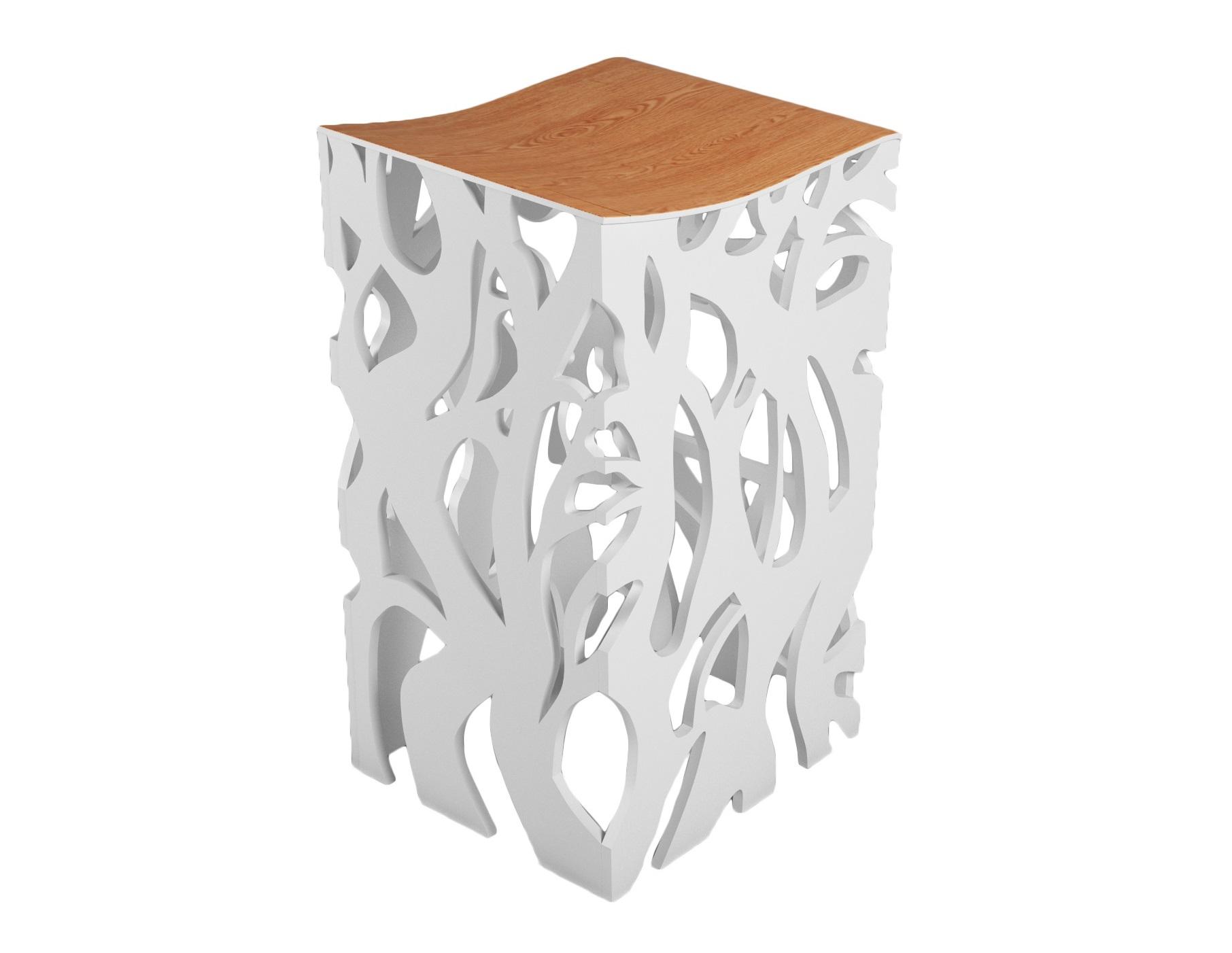 Барный стул ПлющБарные стулья<br>Барный стул дизайна ODINGENIY перевернет ваше представление о барных стульях&amp;amp;nbsp;&amp;lt;div&amp;gt;&amp;lt;br&amp;gt;&amp;lt;/div&amp;gt;&amp;lt;div&amp;gt;Материал: МДФ, шпон&amp;amp;nbsp;&amp;lt;/div&amp;gt;<br><br>Material: МДФ<br>Width см: 40<br>Depth см: 52<br>Height см: 84
