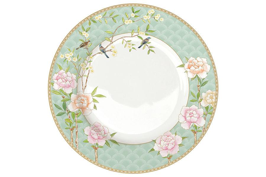Тарелка обеденная Дворцовый паркТарелки<br><br><br>Material: Фарфор<br>Diameter см: 27