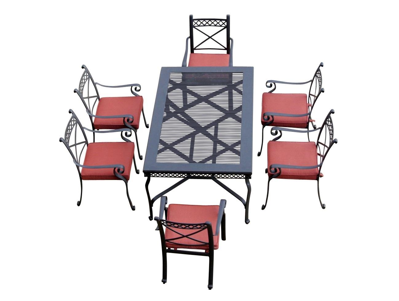 Комплект СИЦИЛИЯКомплекты уличной мебели<br>&amp;lt;div&amp;gt;&amp;lt;span style=&amp;quot;line-height: 24.9999px;&amp;quot;&amp;gt;Литой алюминий является более предпочтительным материалом для садовой мебели, поскольку он не только устойчив к коррозии, но и имеет легкий вес. Такая мебель лучше гармонирует с современными стилями, помимо классики, все чаще встречаются модели оригинального органического и футуристического дизайна. Преимущества мебели - способна выдержать любые капризы природы, можно даже оставить под открытым небом на зиму.&amp;lt;/span&amp;gt;&amp;lt;/div&amp;gt;&amp;lt;div&amp;gt;&amp;lt;span style=&amp;quot;line-height: 24.9999px;&amp;quot;&amp;gt;&amp;lt;br&amp;gt;&amp;lt;/span&amp;gt;&amp;lt;/div&amp;gt;&amp;lt;div&amp;gt;&amp;lt;span style=&amp;quot;line-height: 24.9999px;&amp;quot;&amp;gt;Размер стола: ширина 168 см; глубина 104 см; высота 74 см.&amp;lt;/span&amp;gt;&amp;lt;/div&amp;gt;&amp;lt;div&amp;gt;&amp;lt;span style=&amp;quot;line-height: 24.9999px;&amp;quot;&amp;gt;Размер стульев (6 шт): ширина 60 см; глубина 52 см; высота подлокотников 65 см; высота спинки 93 см.&amp;lt;/span&amp;gt;&amp;lt;/div&amp;gt;<br><br>Material: Алюминий<br>Ширина см: 168<br>Высота см: 74<br>Глубина см: 104