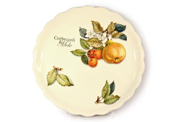 Тарелка обеденная Итальянские фруктыТарелки<br><br><br>Material: Керамика<br>Diameter см: 26,5