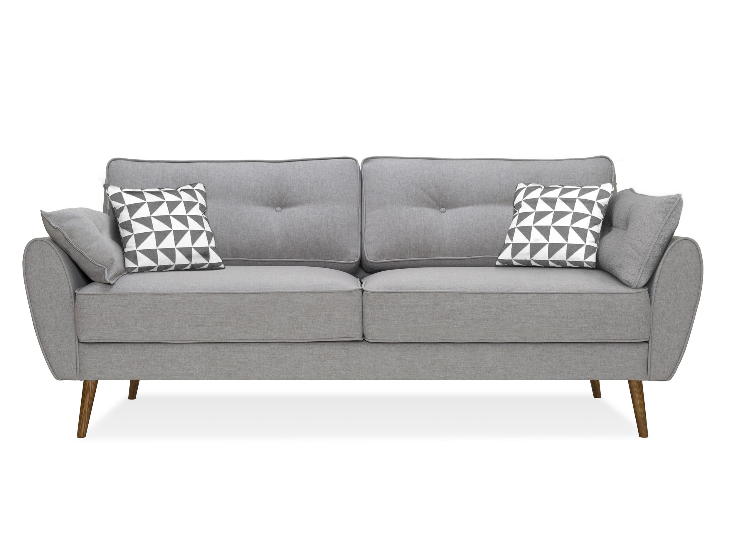 Myfurnish диван vogue серый  66706/43