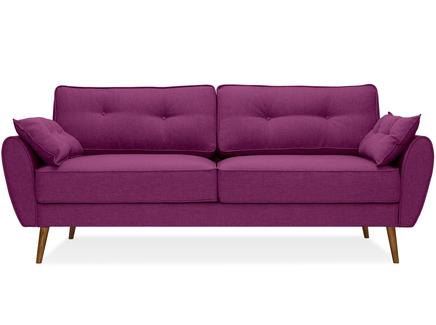 Диван vogue (myfurnish) фиолетовый 226x88x91 см.