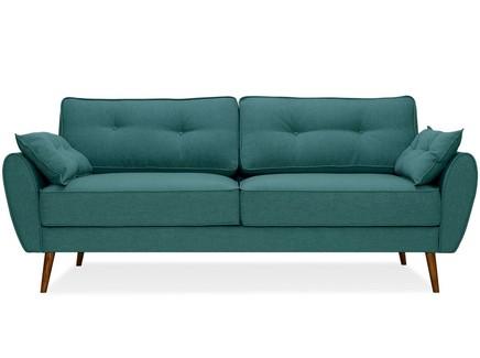 Диван vogue (myfurnish) зеленый 226x88x91 см.