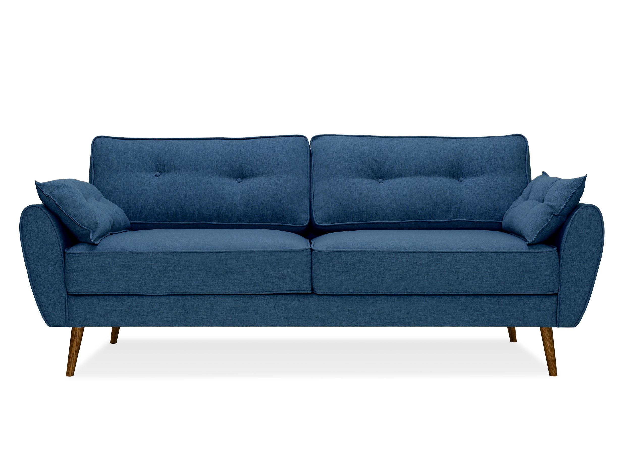 Myfurnish диван vogue синий  66699/15