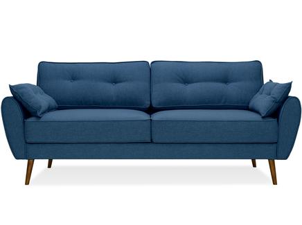 Диван vogue (myfurnish) синий 226x88x91 см.