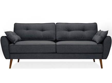 Диван vogue (myfurnish) серый 226x88x91 см.