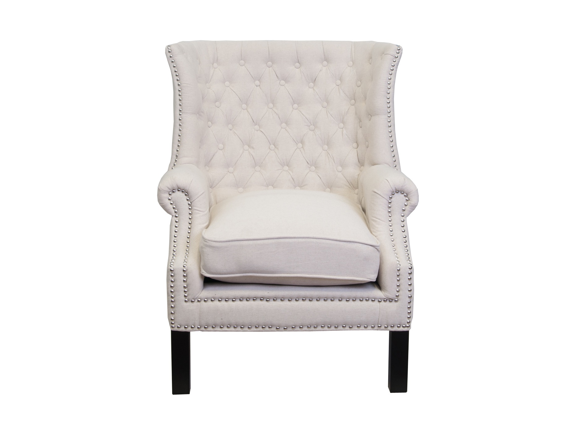 Кресло TeasКресла с высокой спинкой<br>Кресло Teas имеет красивый, классический дизайн. У него широкое сиденье, удобная спинка, скругленные подлокотники, обтянутые натуральной льняной тканью. &amp;amp;nbsp;Кресло станет интересной и функциональной вещью, способной придать вашему интерьеру индивидуальный характер.<br><br>Material: Лен<br>Width см: 76<br>Depth см: 80<br>Height см: 105