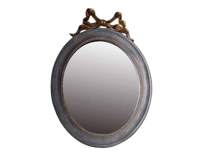 Зеркало настольноеНастольные зеркала<br>Настольное зеркало овальной фориы.Зеркало также можно повесить на стену ( есть крепление).<br><br>Material: Дерево<br>Width см: 28<br>Depth см: 3<br>Height см: 40