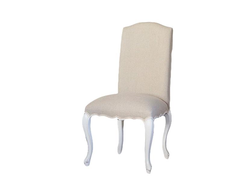 СтулОбеденные стулья<br>Стул с мягкой спинкой в классическом стиле,ножки декорированы патиной.Однотонная обивка.<br><br>Material: Дерево<br>Width см: 60<br>Depth см: 56<br>Height см: 108