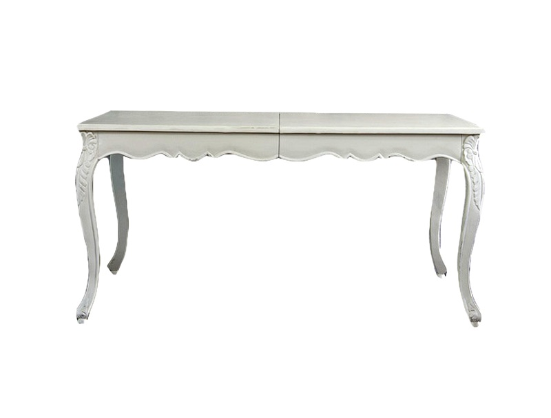 Стол обеденныйОбеденные столы<br>Стол обеденный прямоугольный раскладной на четырех ножках в стиле прованс.&amp;lt;div&amp;gt;&amp;lt;br&amp;gt;&amp;lt;/div&amp;gt;&amp;lt;div&amp;gt;В раздвинутом виде ширина стола составляет 210 см.&amp;lt;/div&amp;gt;<br><br>Material: Дерево<br>Ширина см: 166<br>Высота см: 80<br>Глубина см: 110
