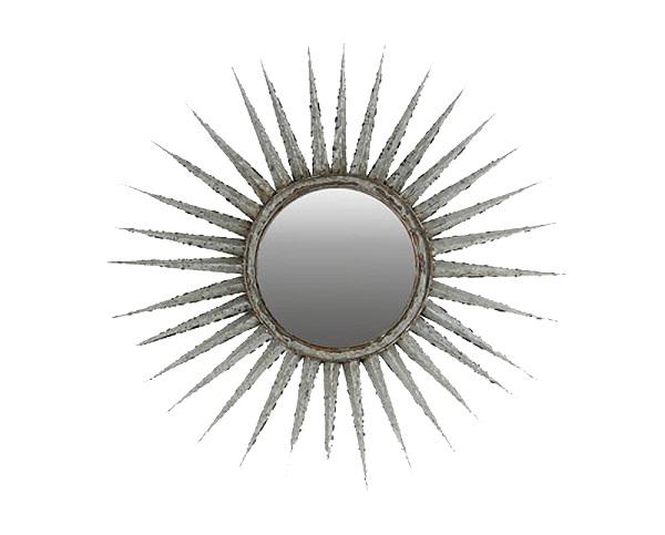 Зеркало «Солнце»Настенные зеркала<br><br><br>Material: Металл<br>Depth см: 4<br>Diameter см: 76