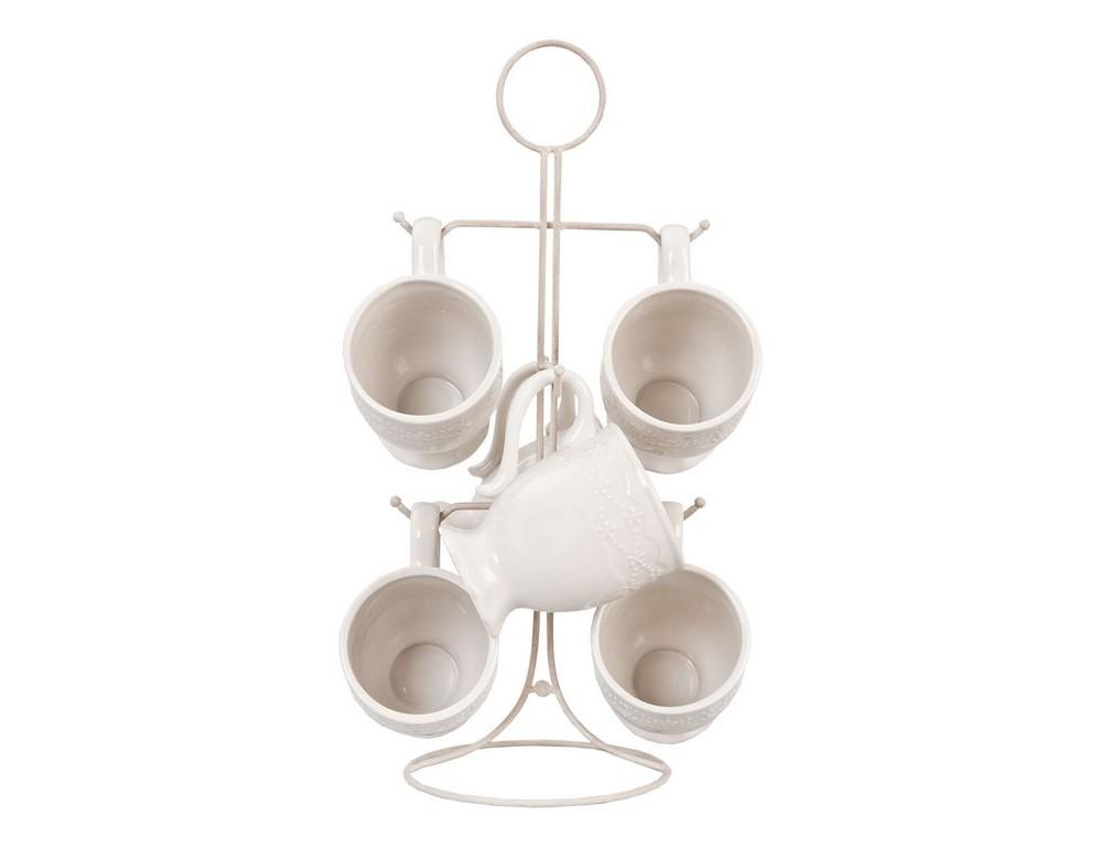 Набор чашек (6 шт)Чайные пары, чашки и кружки<br>Объем 0.2 литра.<br><br>Material: Керамика<br>Height см: 40<br>Diameter см: 22