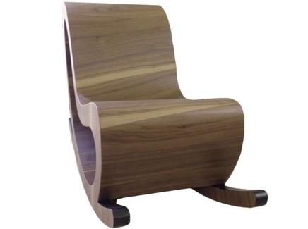 Кресло-качалка цикл (odingeniy) коричневый 50.0x76.0x122.0 см.