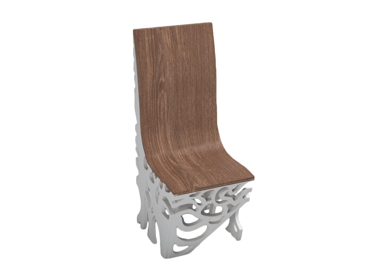 Стул ПлющОбеденные стулья<br>Потрясающе красивый стул с резными вставками! Очень удобный и преобразит ваш интерьер до неузнаваемости!<br>Материал: МДФ, шпон&amp;amp;nbsp;<br><br>Material: МДФ<br>Width см: 43<br>Depth см: 56<br>Height см: 111
