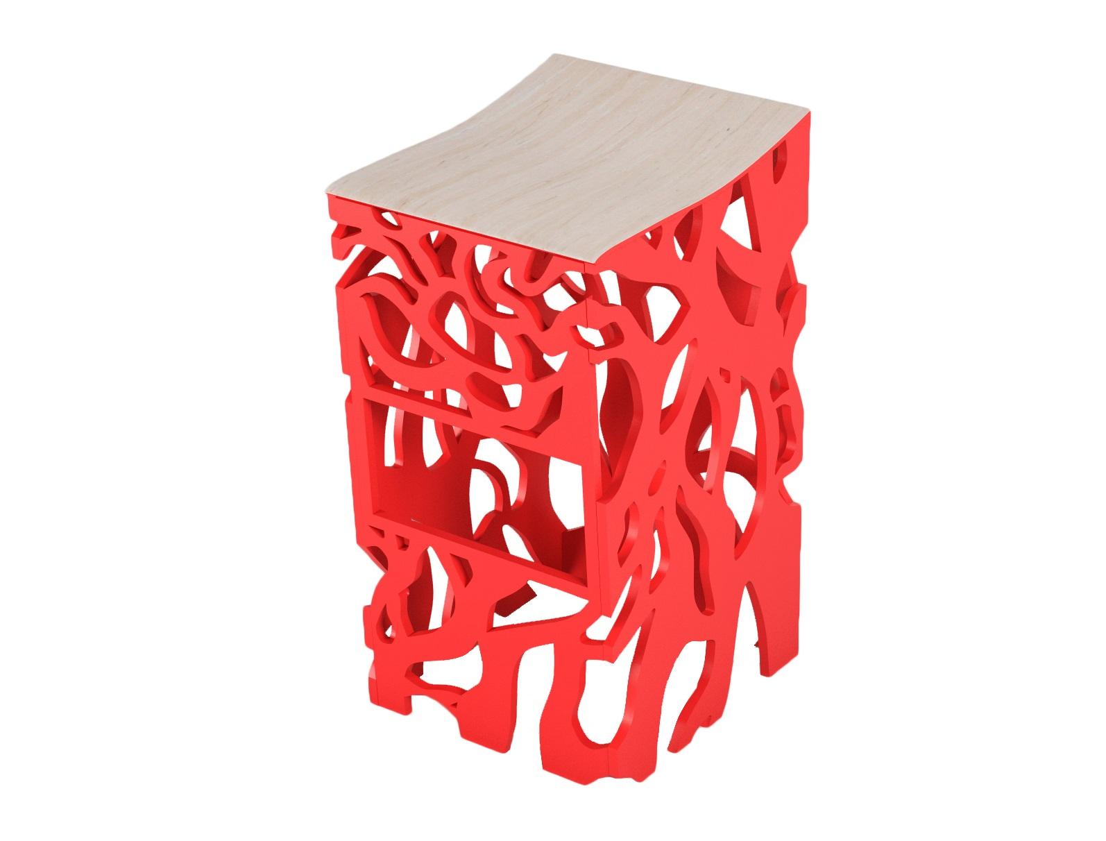 Стул ПлющБарные стулья<br>Барный стул дизайна ODINGENIY перевернет ваше представление о барных стульях&amp;amp;nbsp;&amp;lt;div&amp;gt;Материал: МДФ, шпон&amp;amp;nbsp;&amp;lt;/div&amp;gt;<br><br>Material: МДФ<br>Width см: 40<br>Depth см: 52<br>Height см: 84