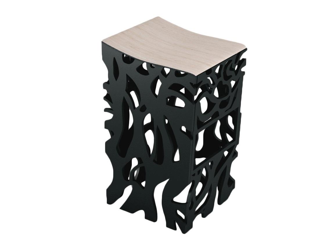 Барный стул ПлющБарные стулья<br>Барный стул дизайна ODINGENIY перевернет ваше представление о барных стульях&amp;amp;nbsp;&amp;lt;div&amp;gt;Материал: МДФ, шпон&amp;amp;nbsp;&amp;lt;/div&amp;gt;<br><br>Material: МДФ<br>Ширина см: 40.0<br>Высота см: 84.0<br>Глубина см: 52.0