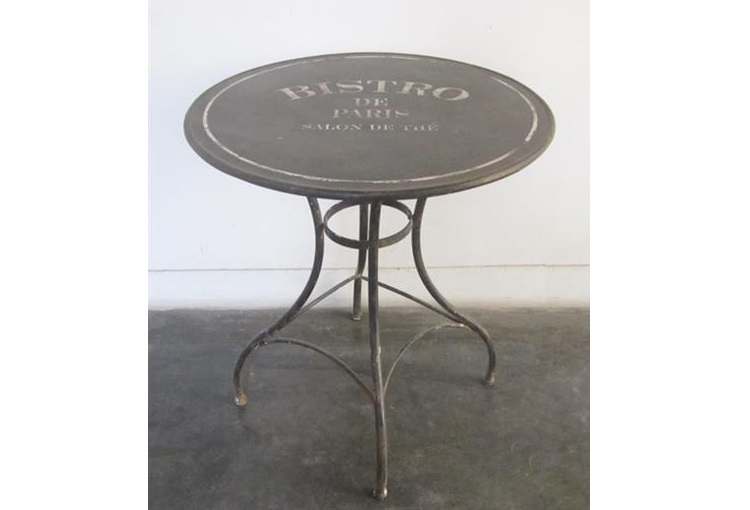 Стол-геридон БистроСтолы и столики для сада<br><br><br>Material: Металл<br>Height см: 75<br>Diameter см: 71