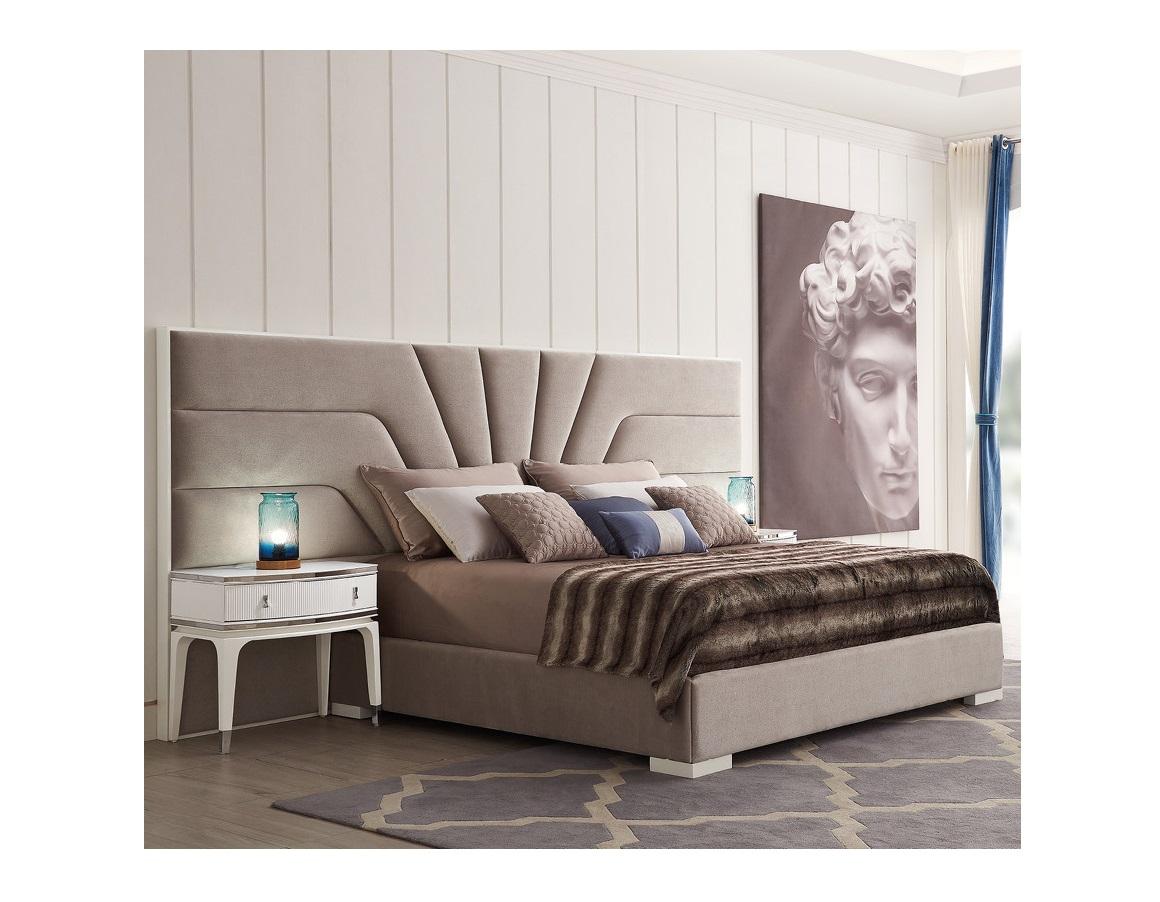 Кровать с решеткой RiminiКровати с мягким изголовьем<br>Кровать выполнена в стиле Ар деко.&amp;amp;nbsp;&amp;lt;div&amp;gt;&amp;amp;nbsp;&amp;lt;/div&amp;gt;&amp;lt;div&amp;gt;Сделана из высококачественного МДФ высокой плотности и массива дерева.&amp;amp;nbsp;&amp;lt;/div&amp;gt;&amp;lt;div&amp;gt;Поставляется с решеткой, без матраса.&amp;amp;nbsp;&amp;lt;/div&amp;gt;&amp;lt;div&amp;gt;Размер спального места 180*200 см.&amp;amp;nbsp;&amp;lt;/div&amp;gt;&amp;lt;div&amp;gt;Изголовье крепится к стене.&amp;lt;/div&amp;gt;<br><br>Material: Текстиль<br>Ширина см: 327<br>Высота см: 157<br>Глубина см: 215