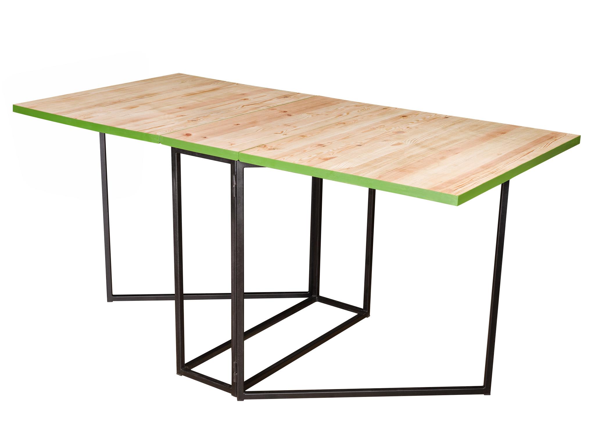 Стол FoldОбеденные столы<br>&amp;lt;div&amp;gt;Теперь вас невозможно будет застать врасплох внезапным застольем, ведь стол &amp;quot;Fold&amp;quot; приводится в боевую готовность за считанные секунды! Благодаря легкой металлической рамке стол остается мобильным, а варианты трансформации также делают этот стол идеальным для кейтеринга.&amp;lt;/div&amp;gt;&amp;lt;div&amp;gt;&amp;lt;br&amp;gt;&amp;lt;/div&amp;gt;Размеры стола в разложенном состоянии 160*80*75, в сложенном 35*80*75 см.&amp;lt;div&amp;gt;Материалы: сосна, металл.&amp;lt;br&amp;gt;&amp;lt;/div&amp;gt;&amp;lt;div&amp;gt;&amp;lt;br&amp;gt;&amp;lt;/div&amp;gt;&amp;lt;div&amp;gt;Возможно изготовление столешницы из различных пород дерева, различной тонировки и цвета.&amp;amp;nbsp;&amp;lt;/div&amp;gt;&amp;lt;div&amp;gt;Цвет подстолья также можно выбрать по RAL.&amp;lt;br&amp;gt;&amp;lt;/div&amp;gt;<br><br>Material: Сосна<br>Width см: 160<br>Depth см: 80<br>Height см: 75<br>Diameter см: None