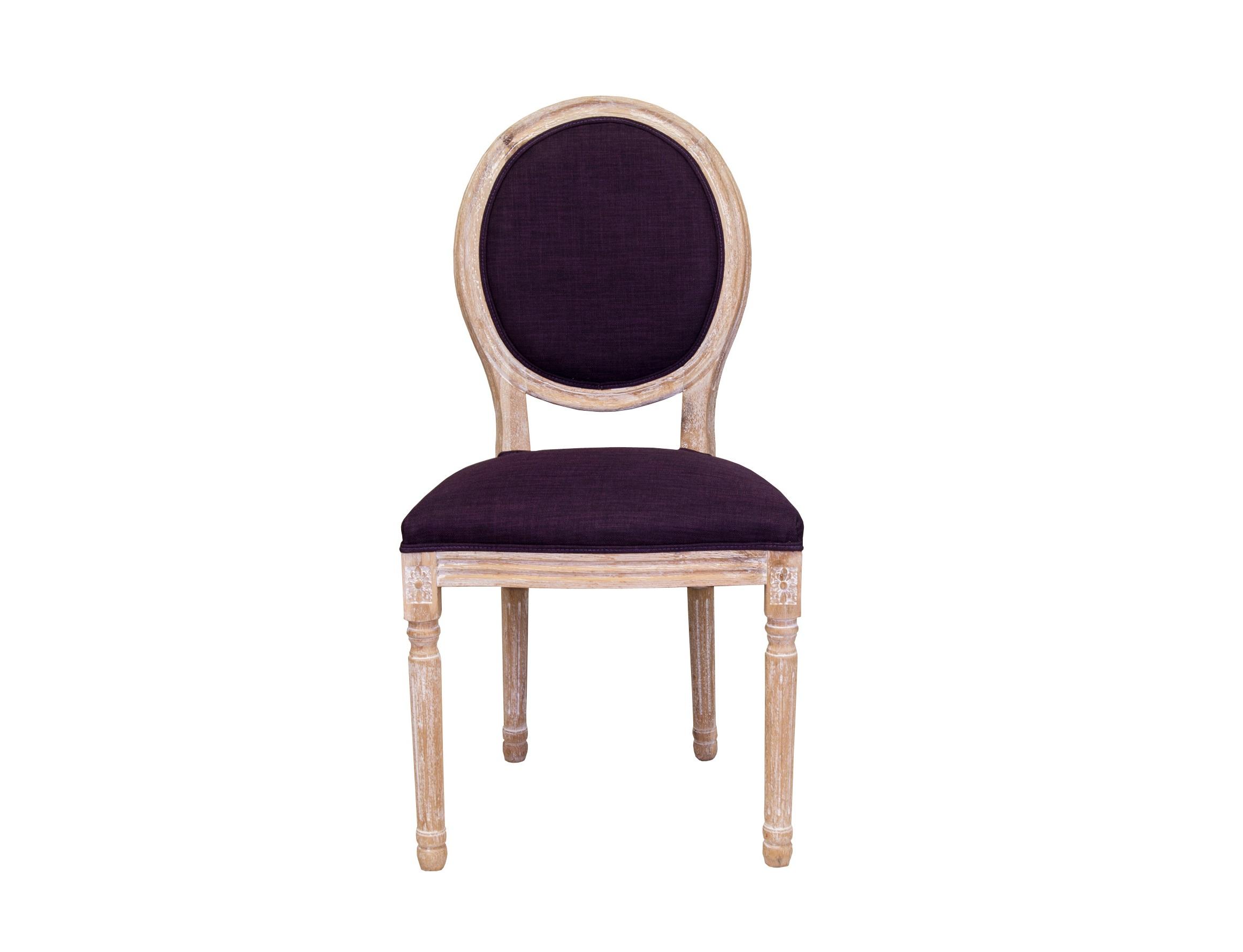 Стул MiroОбеденные стулья<br>Изысканный стул Miro с округлой спинкой напоминающей медальон, выполнен в элегантном классическом французском стиле. Основание модели выполнено из цельной породы древесины - массива дуба,искусственно состаренного.Такой стул эффектно смотрится как в контрастной, так и в однотонной обстановке.<br><br>Material: Дуб<br>Ширина см: 50<br>Высота см: 98<br>Глубина см: 56