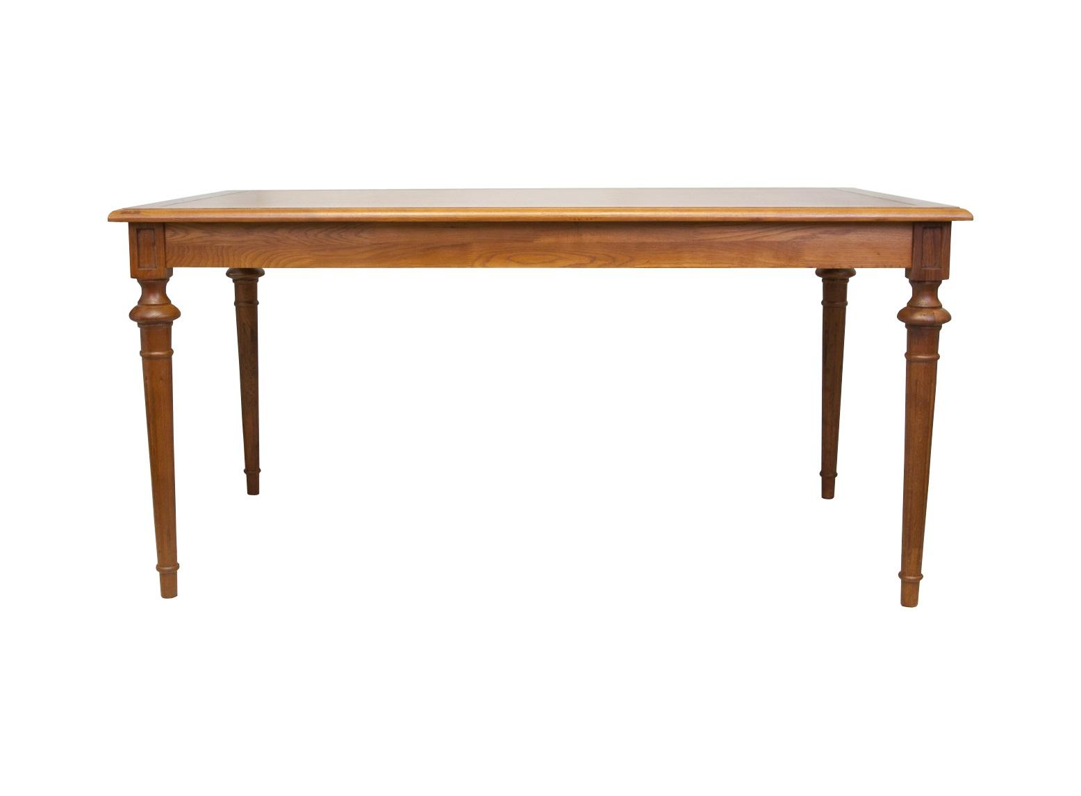 Стол PatonОбеденные столы<br>Стол Paton - традиционная модель для гостиных или столовых. Его привычные очертания дополнят интерьер в классическом стиле. Изюминка модели - элегантные точеные ножки.<br><br>Material: Дуб<br>Ширина см: 160<br>Высота см: 78<br>Глубина см: 90
