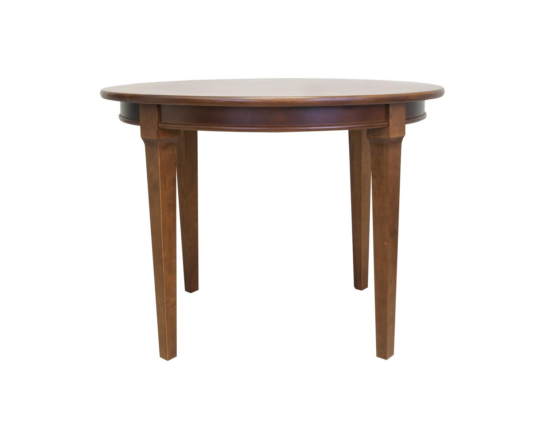Стол ClarenОбеденные столы<br>Этот изящный столик сочетает в себе сдержанный цвет и минимализм современного стиля, а его классическая форма придает ему некоего шика. Этот стол станет отличным дополнением к Вашему интерьеру.&amp;amp;nbsp;<br><br>Material: Береза<br>Width см: None<br>Depth см: None<br>Height см: 76<br>Diameter см: 107