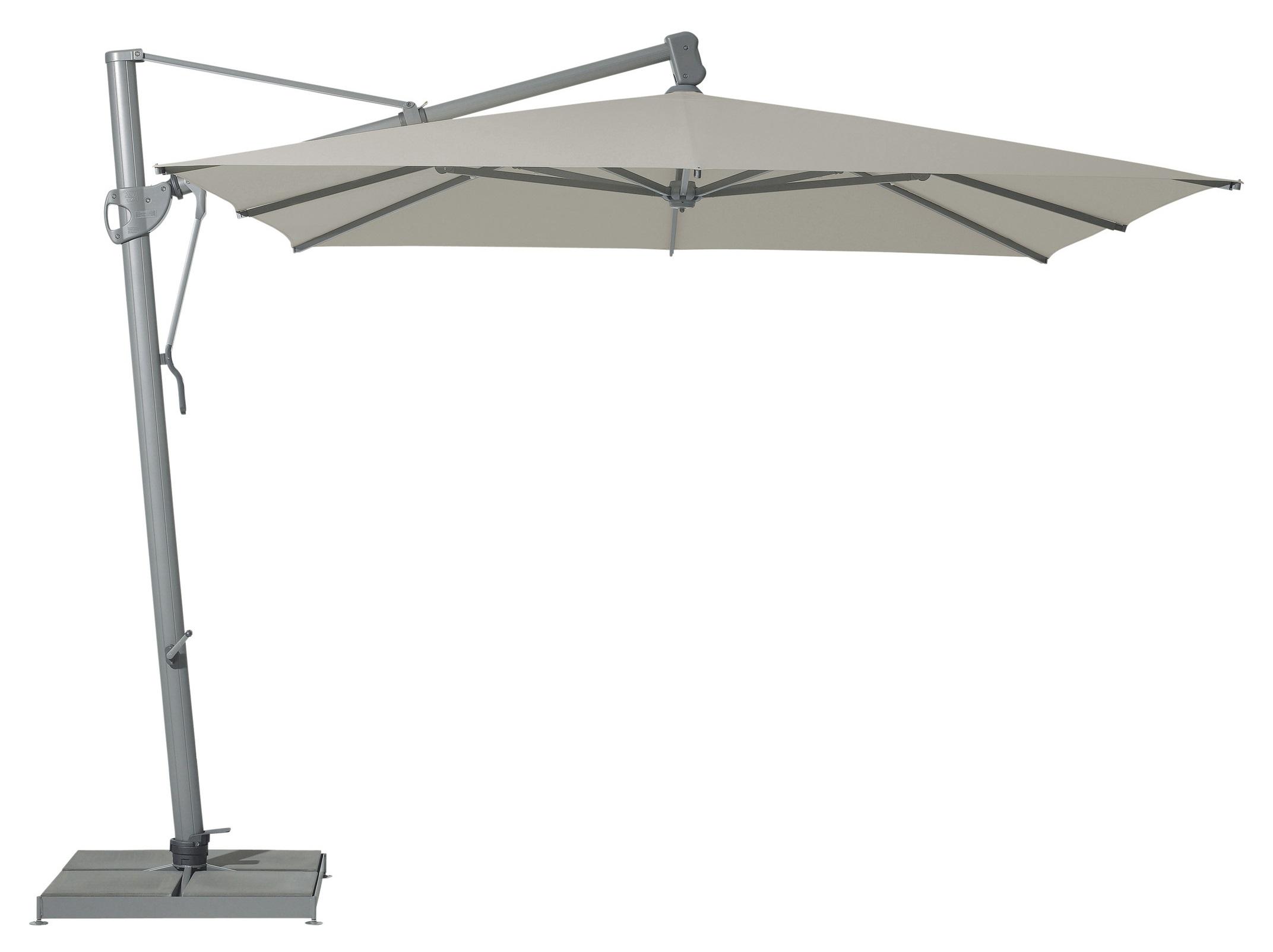 Уличный зонт SunflexТенты и зонты<br>Квадратный зонт с боковой опорой, каркас из алюминия. Вращается вокруг своей оси.&amp;amp;nbsp;&amp;lt;div&amp;gt;&amp;lt;br&amp;gt;&amp;lt;/div&amp;gt;&amp;lt;div&amp;gt;Плотность ткани 180 g/m2.&amp;amp;nbsp;&amp;lt;/div&amp;gt;&amp;lt;div&amp;gt;Максимальная ветровая нагрузка 30км/ч.&amp;amp;nbsp;&amp;lt;/div&amp;gt;&amp;lt;div&amp;gt;В комплект входит:  база 120кг, защитный чехол.&amp;amp;nbsp;&amp;lt;/div&amp;gt;<br><br>Material: Алюминий<br>Ширина см: 300<br>Высота см: 270<br>Глубина см: 300