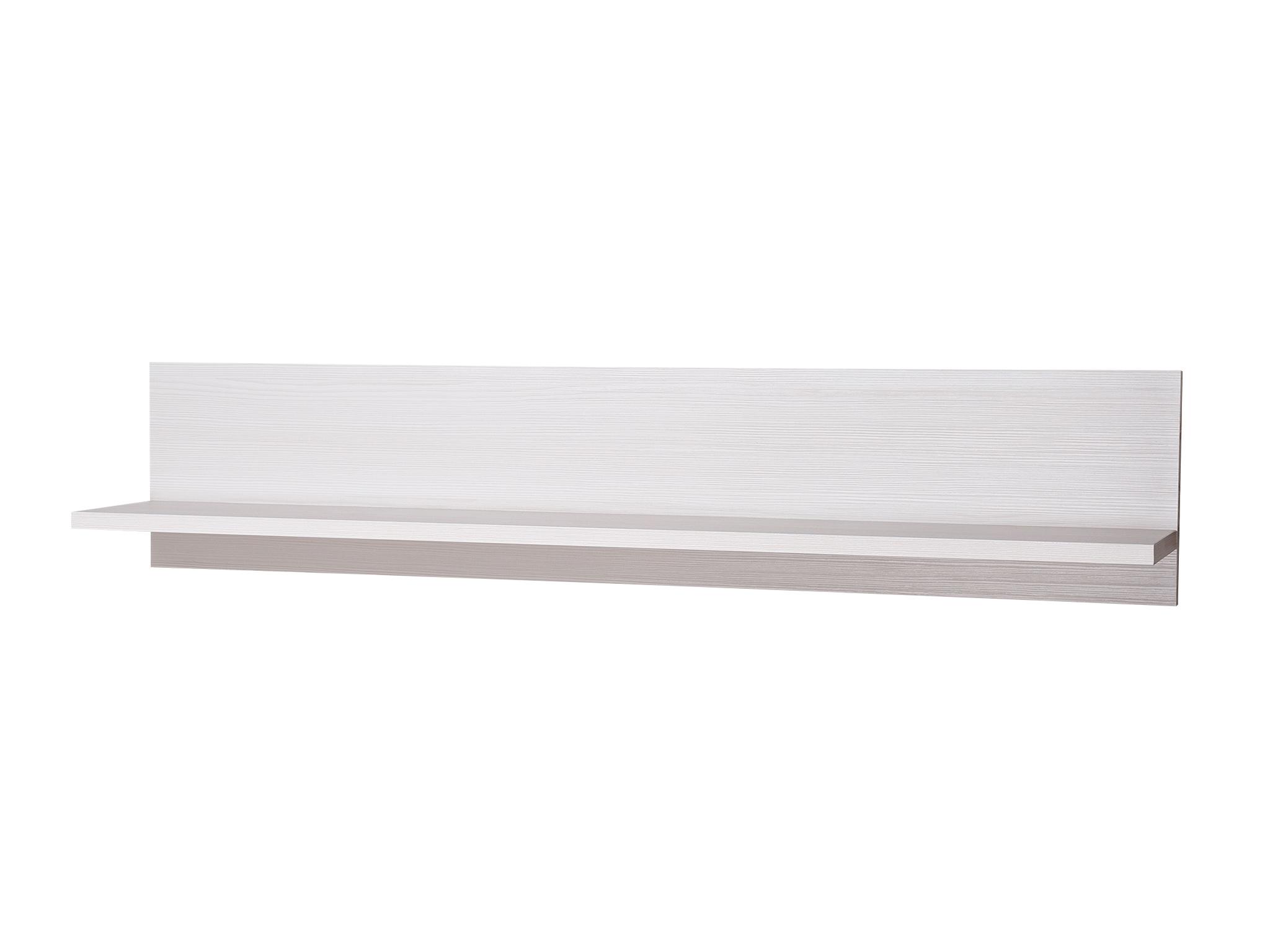 Полка TIFFANYПолки<br>Цвет: вудлайн кремовый&amp;lt;div&amp;gt;Материал корпуса: ДСП ламинированная, толщина- 16 мм&amp;lt;/div&amp;gt;&amp;lt;div&amp;gt;Материал фасада: рамочный (планки МДФ ламинированная, патинированная и филенка ЛДСП толщина 8 мм)&amp;lt;/div&amp;gt;&amp;lt;div&amp;gt;Тип облицовки: ПВХ 0,5мм<br>&amp;lt;/div&amp;gt;<br><br>Material: ДСП<br>Ширина см: 130.0<br>Высота см: 26.7<br>Глубина см: 21.6