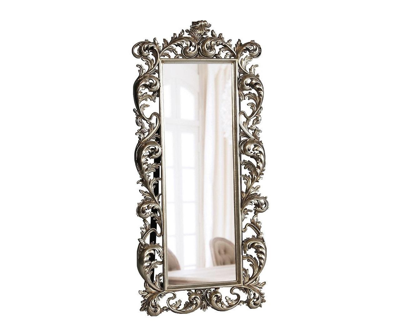 """Напольное зеркало """"Меривейл"""" (серебро)"""