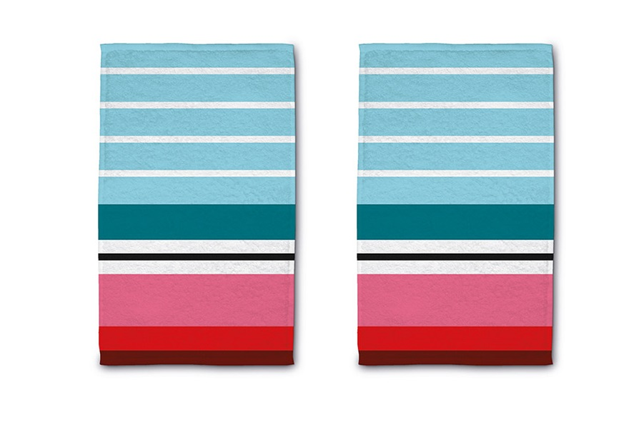 Набор полотенец stripes (2 шт.)Комплекты полотенец<br>Дизайн полотенец от немецкой компании Remember наполнен иронией над серой обыденностью. Абстрактность и минимализм, яркость и сдержанность - каждый сможет выбрать комплект, подходящий под определенный интерьер и индивидуальное настроение. Натуральный хлопок мягкий на ощупь, благодаря особой структуре хорошо впитывает влагу. В набор входит 2 одинаковых полотенца.<br><br>Material: Хлопок<br>Width см: 30<br>Depth см: 0,5<br>Height см: 50