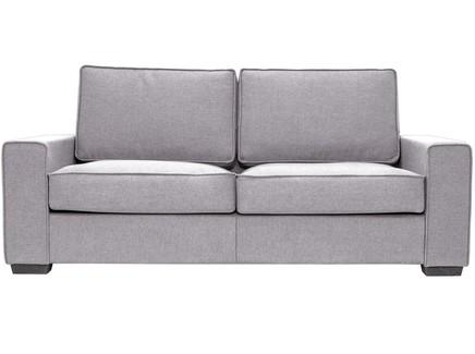 Диван-кровать hallstatt (myfurnish) серый 200x80x82 см.