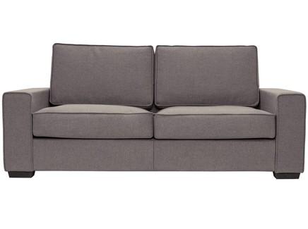 Диван-кровать hallstatt (myfurnish) коричневый 200x80x82 см.