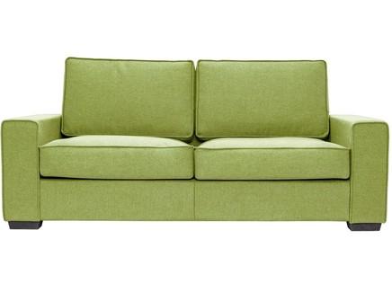 Диван-кровать hallstatt (myfurnish) зеленый 200x80x82 см.