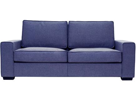 Диван-кровать hallstatt (myfurnish) фиолетовый 200x80x82 см.