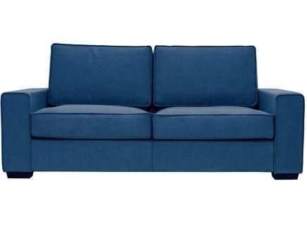 Диван-кровать hallstatt (myfurnish) синий 200x80x82 см.