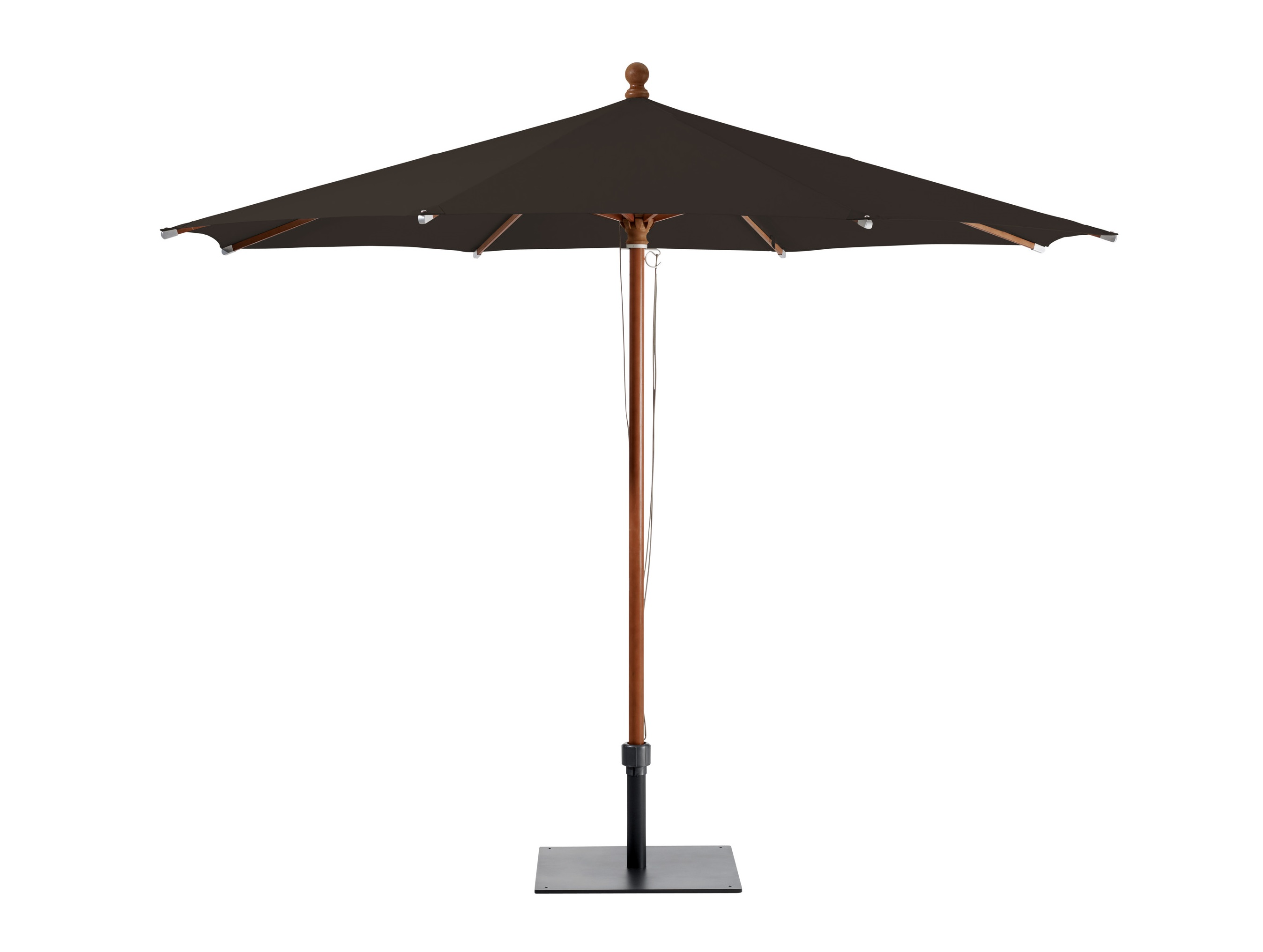 Уличный зонт PiazzinoТенты и зонты<br>Круглый зонт, каркас из канадского клена.&amp;amp;nbsp;&amp;lt;div&amp;gt;&amp;lt;br&amp;gt;&amp;lt;div&amp;gt;Плотность ткани 250 g/m2.&amp;amp;nbsp;&amp;lt;/div&amp;gt;&amp;lt;div&amp;gt;Максимальная ветровая нагрузка 30км/ч.&amp;amp;nbsp;&amp;lt;/div&amp;gt;&amp;lt;div&amp;gt;В комплект входит: стальная база 60кг,опорная трубка, защитный чехол.&amp;amp;nbsp;&amp;lt;/div&amp;gt;&amp;lt;/div&amp;gt;<br><br>Material: Дерево<br>Height см: 275<br>Diameter см: 300