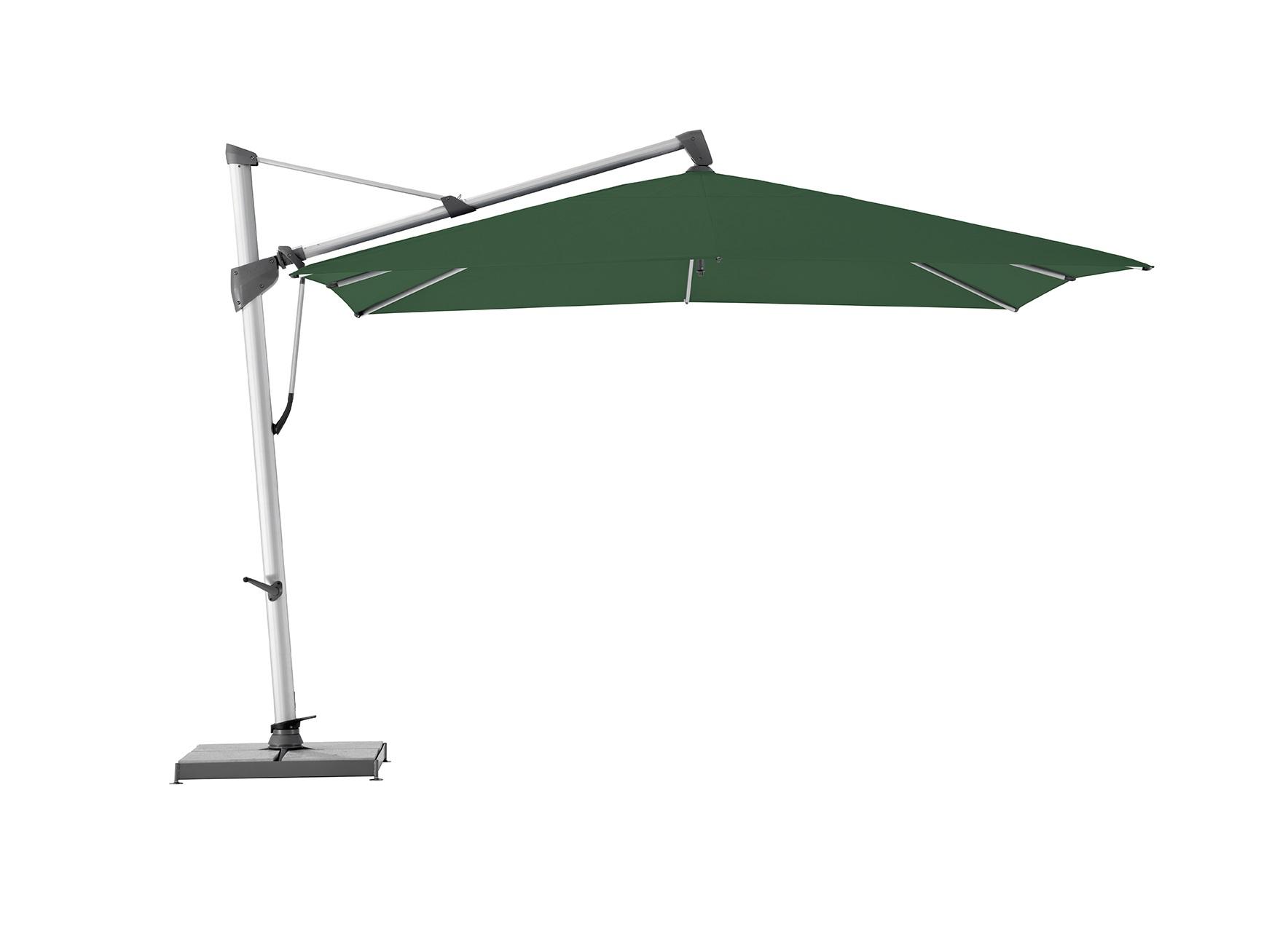 Уличный зонт Sombrano S+Тенты и зонты<br>Квадратный зонт с боковой опорой, каркас из анодированного алюминия.&amp;amp;nbsp;&amp;lt;div&amp;gt;&amp;lt;div&amp;gt;Вращается вокруг своей оси.&amp;amp;nbsp;&amp;lt;/div&amp;gt;&amp;lt;div&amp;gt;Регулируется угол наклона купола.&amp;amp;nbsp;&amp;lt;/div&amp;gt;&amp;lt;div&amp;gt;&amp;lt;br&amp;gt;&amp;lt;/div&amp;gt;&amp;lt;div&amp;gt;Плотность ткани 250 g/m2.&amp;amp;nbsp;&amp;lt;/div&amp;gt;&amp;lt;div&amp;gt;Максимальная ветровая нагрузка 45км/ч.&amp;amp;nbsp;&amp;lt;/div&amp;gt;&amp;lt;div&amp;gt;В комплект входит:  база 180кг,декоративная крышка для базы, защитный чехол.&amp;amp;nbsp;&amp;lt;/div&amp;gt;&amp;lt;/div&amp;gt;<br><br>Material: Алюминий<br>Width см: 300<br>Depth см: 300<br>Height см: 300