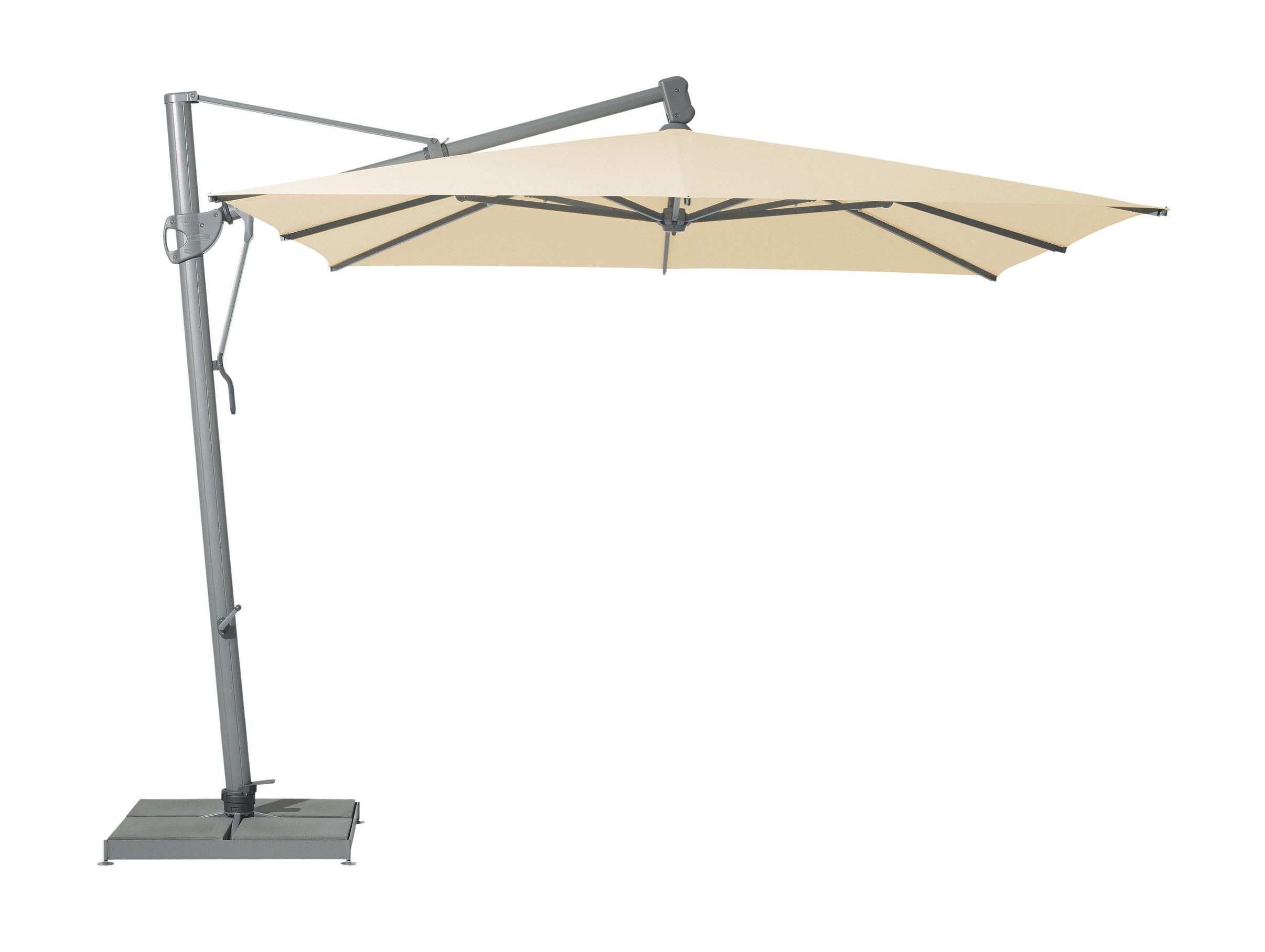 Уличный зонт sombrano easy (glatz) бежевый 350.0x300x350.0 см.