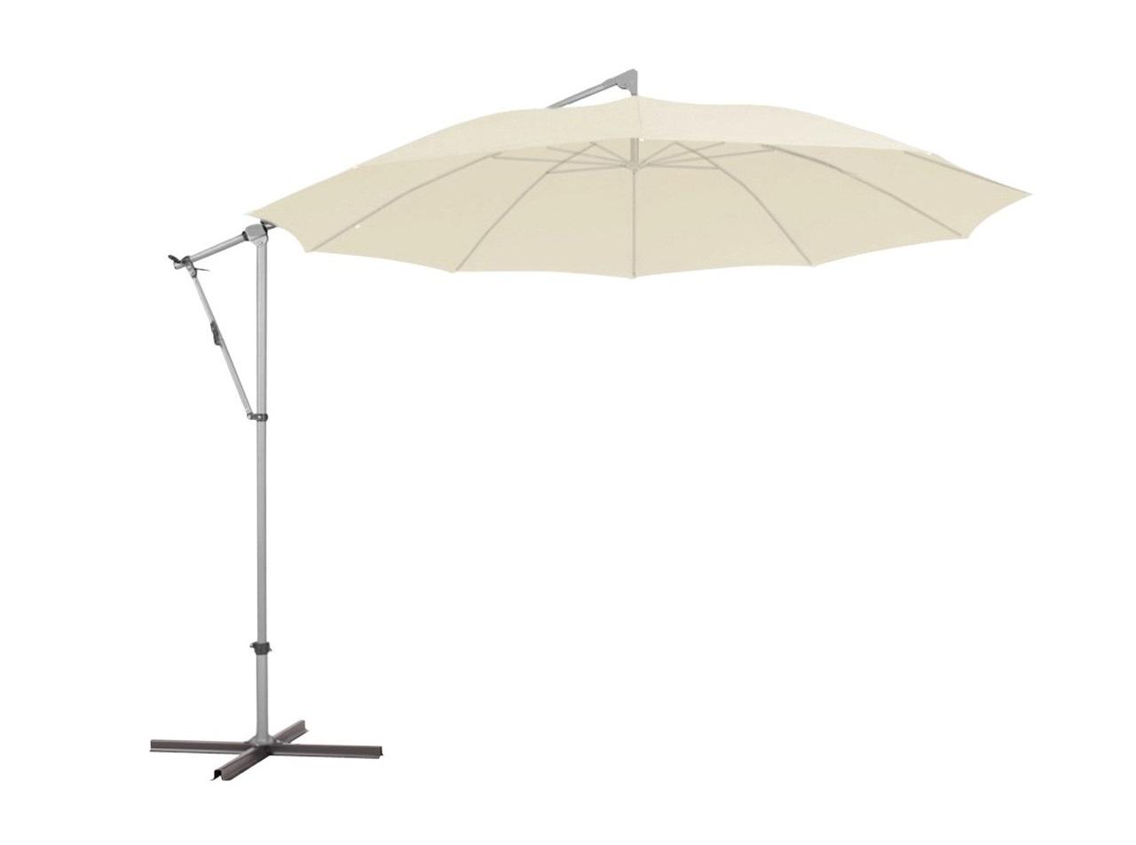 Уличный зонт pendolino (glatz) бежевый 255 см.