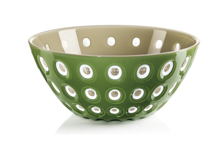 Салатница le murrineМиски и чаши<br>Эта оригинальная салатница Le Murrine является результатом инновационного исследования Guzzini в области форм и материалов. Технология инжекторной трехцветной штамповки 3 Color Tech образует уникальный эффект, который делает салатницу изысканным и неповторимым предметом для сервировки. Наложенные друг на друга три слоя пластика позволяют создавать игру цвета, чередовать плотные и прозрачные, полированные и матовые поверхности.<br><br>Салатница подойдет для подачи десертов, выпечки, мороженого и других блюд, а так же может служить изящным декоративным элементом вашего дома. <br>Объем 2,7 л. Изготовлена из безопасного высококачественного пластика, устойчивого к износу и повреждениям. Можно мыть в посудомоечной машине.