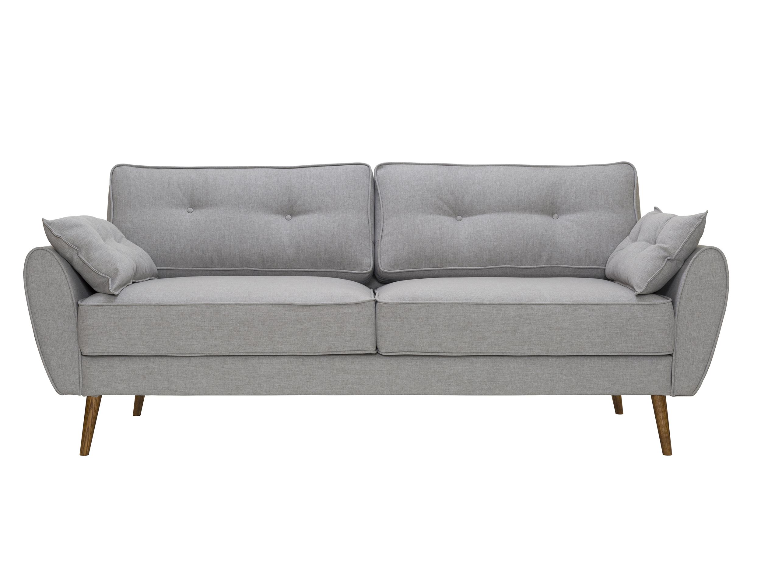 Диван VogueТрехместные диваны<br>&amp;lt;div&amp;gt;Современный диван с легким намеком на &amp;quot;ретро&amp;quot; идеально подойдет для городских квартир. У него скругленные подлокотники, упругие подушки и как раз та длина, чтобы вы могли вытянуться в полный рост. &amp;amp;nbsp;Но благодаря высоким ножкам &amp;quot;Vogue&amp;quot; выглядит лаконично и элегантно. Специально для этой серии наши стилисты подобрали 10 модных оттенков практичной рогожки.&amp;amp;nbsp;&amp;lt;br&amp;gt;&amp;lt;/div&amp;gt;&amp;lt;div&amp;gt;&amp;lt;br&amp;gt;&amp;lt;/div&amp;gt;Корпус: фанера, брус&amp;lt;div&amp;gt;Ткань 100% полиэстер, 30-50 000 циклов&amp;lt;/div&amp;gt;&amp;lt;div&amp;gt;Ножки (Дерево)&amp;lt;/div&amp;gt;&amp;lt;div&amp;gt;Еcть возможность изготовления в другом материале обивки&amp;lt;/div&amp;gt;<br><br>Material: Текстиль<br>Length см: None<br>Width см: 226<br>Depth см: 91<br>Height см: 88