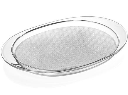 Поднос venice (guzzini) прозрачный 54x4x34 см.